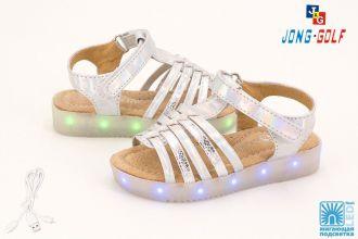 Sandals for girls Jong•Golf: B9665, sizes 24-29 (B)