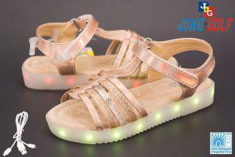 Sandals for girls: C9666, sizes 29-34 (B) | Jong•Golf