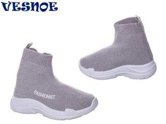 Кроссовки для девочек: B90400, размеры 25-30 (B) | VESNOE