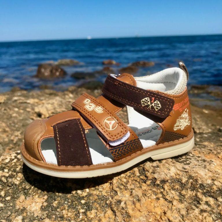 Sandals for boys: A752, sizes 23-28 (A) | Jong•Golf
