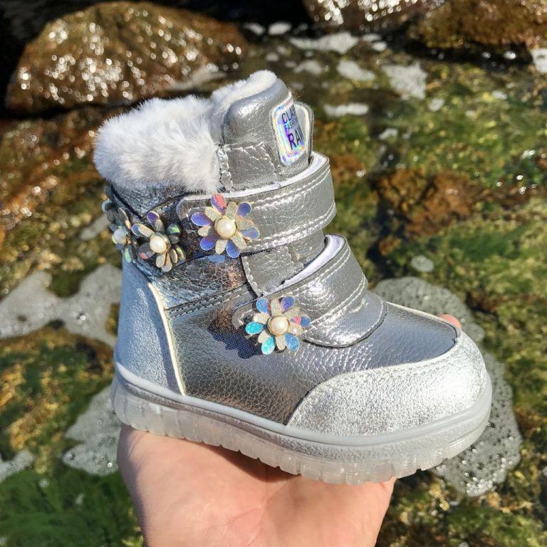 Ботинки для девочек: A863, размеры 23-28 (A) | Jong•Golf