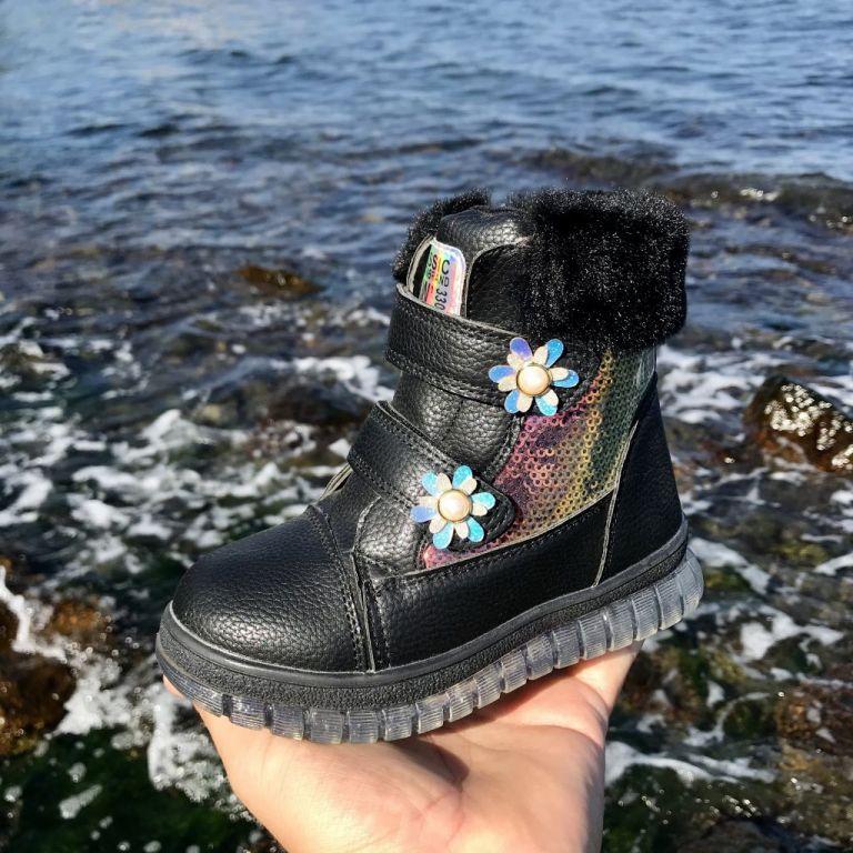 Ботинки для девочек: B866, размеры 28-33 (B) | Jong•Golf