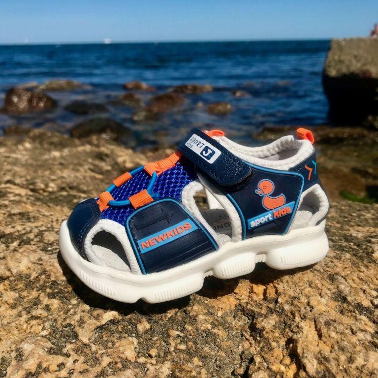 Sandals for boys & girls: A294, sizes 22-29 (A) | Jong•Golf