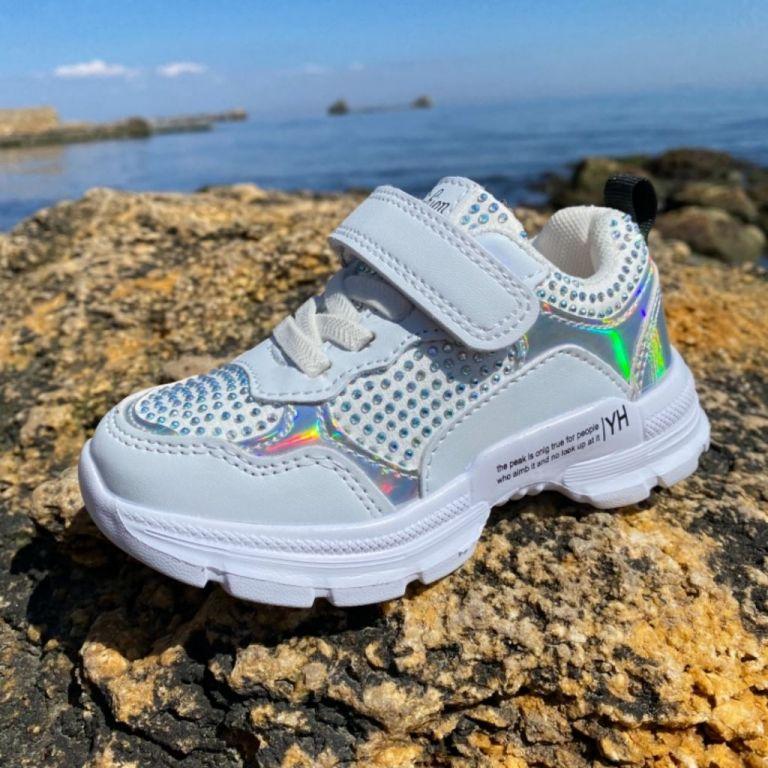 Кроссовки для девочек: B10031, размеры 25-30 (B) | Jong•Golf