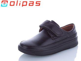 Туфли для мальчиков: D3112, размеры 26-31 (B) | Olipas | Цвет -1