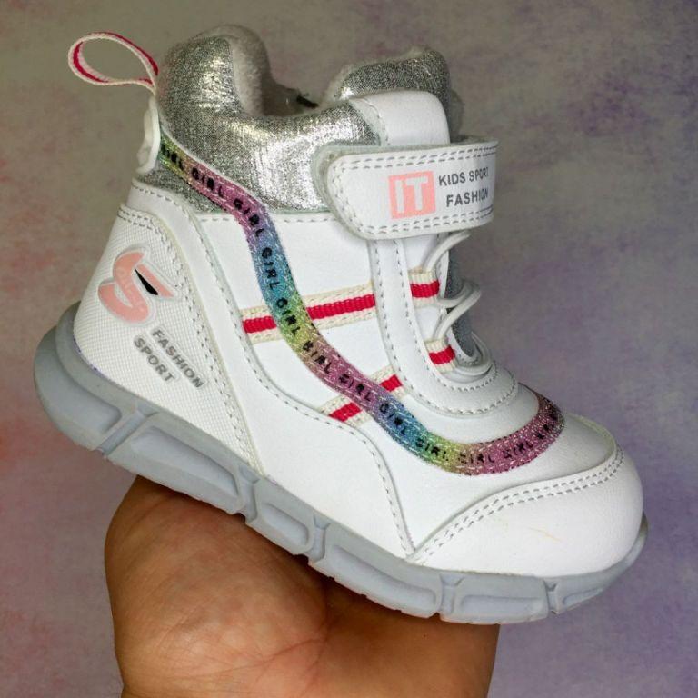 Ботинки для девочек: A40049, размеры 22-27 (A) | Jong•Golf