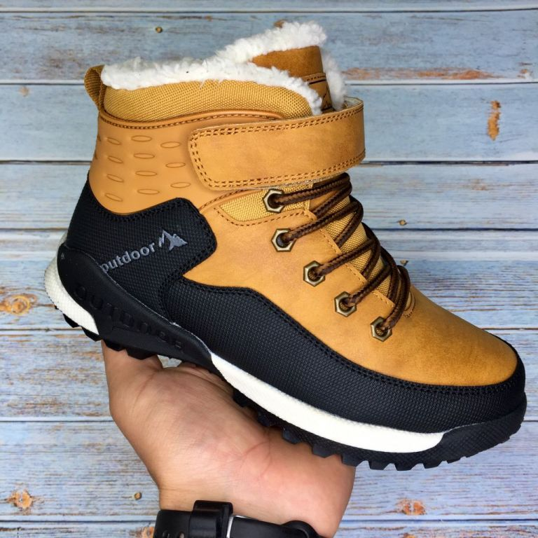 Boots for boys: C40056, sizes 32-37 (C) | Jong•Golf