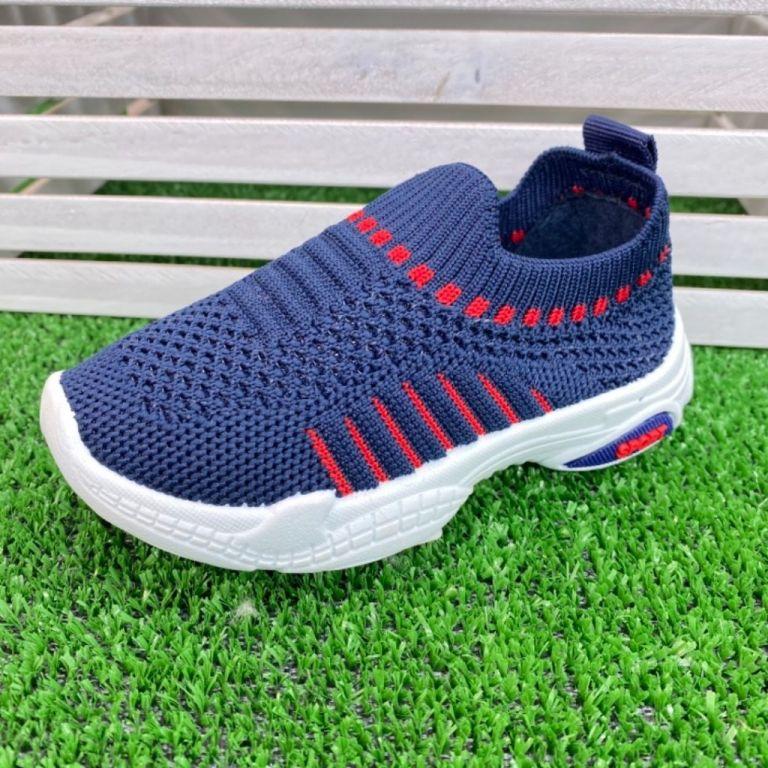 Текстильні мокасини для хлопчиків і дівчаток: B10186, розміри 27-31 (B) | Jong•Golf
