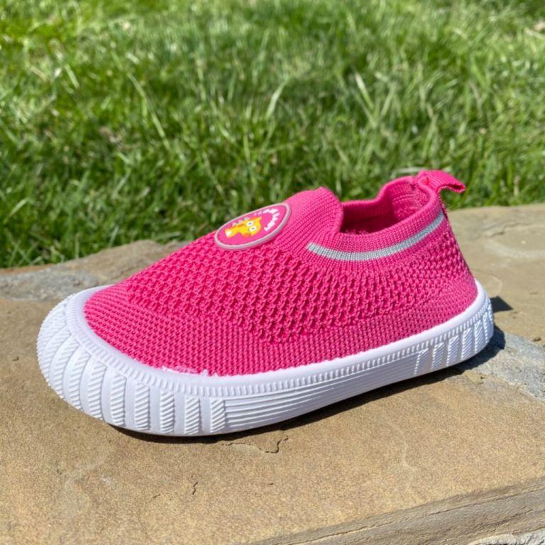 Textile moccasins for boys & girls: A10352, sizes 22-26 (A) | VESNOE