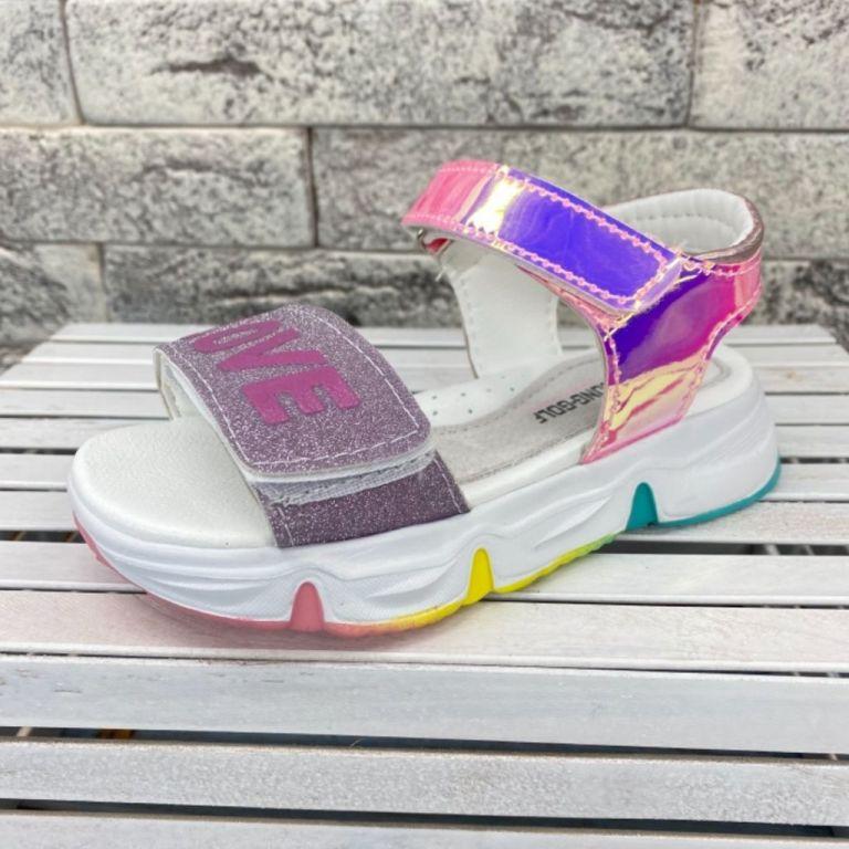 Босоніжки для дівчаток: B20112, розміри 26-31 (B) | Jong•Golf